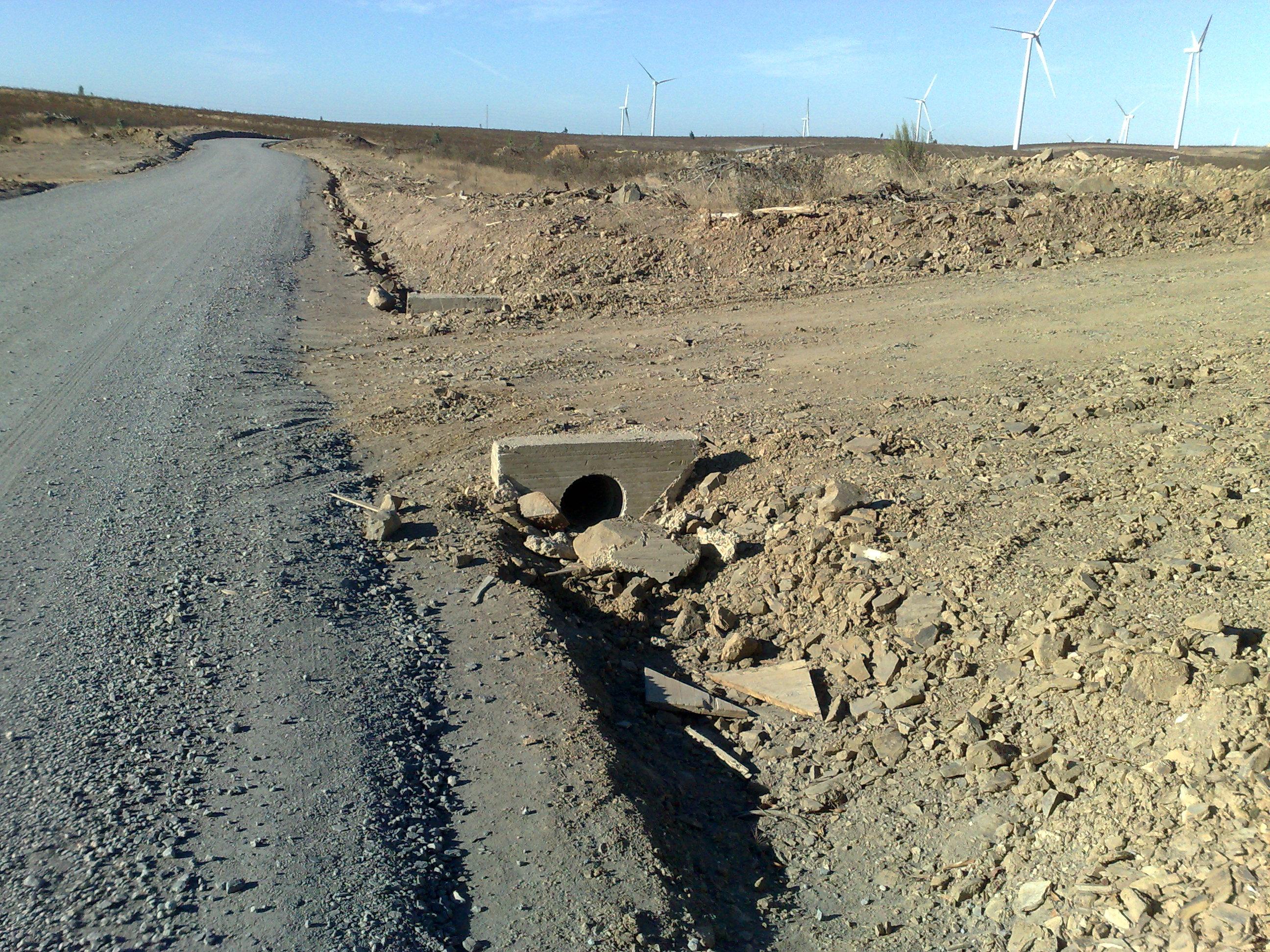 Drainage 1: concrete precast pipes