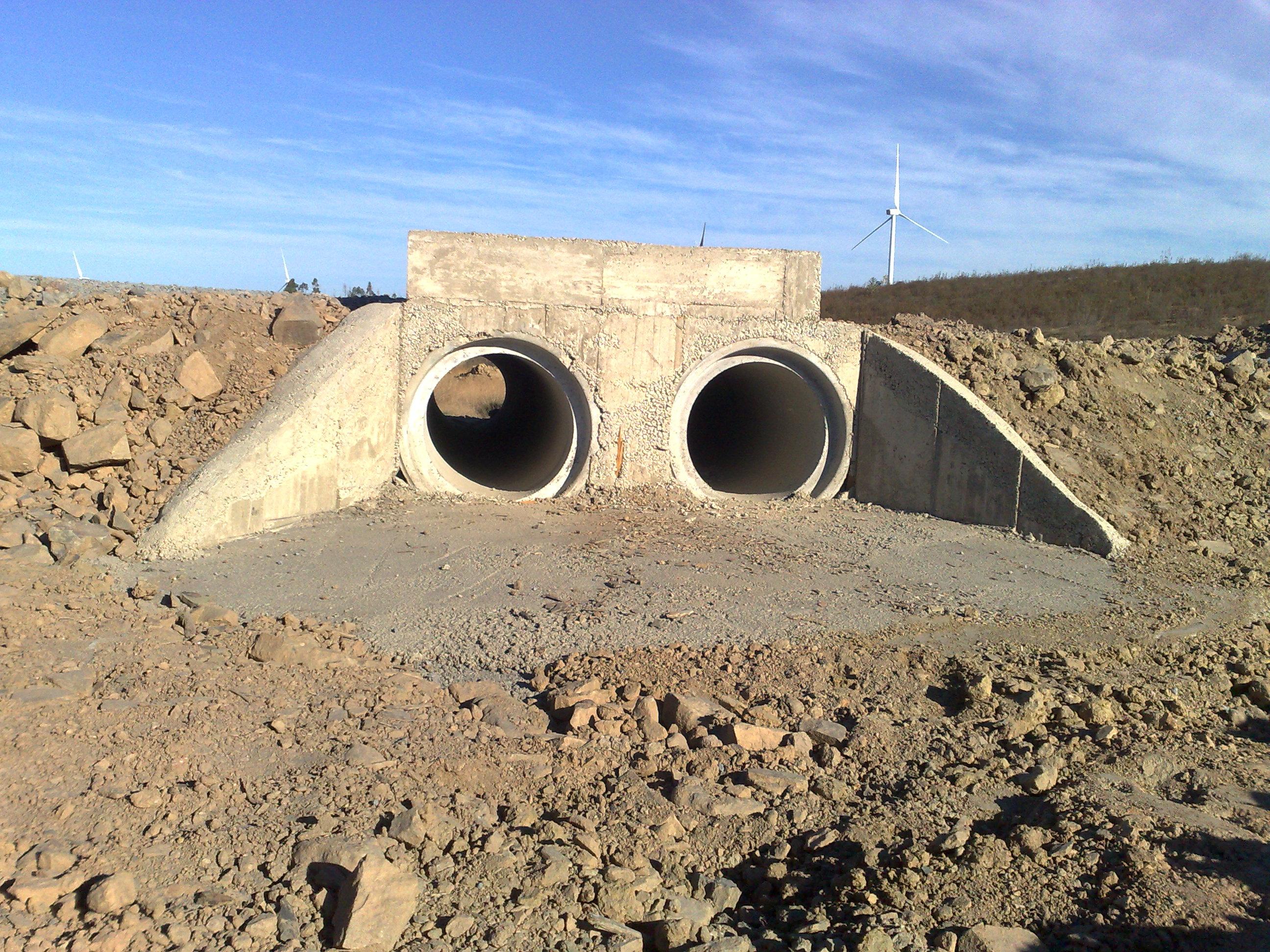 Drainage 2: concrete precast pipes