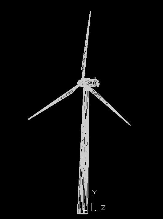 dwg | Wind farms construction