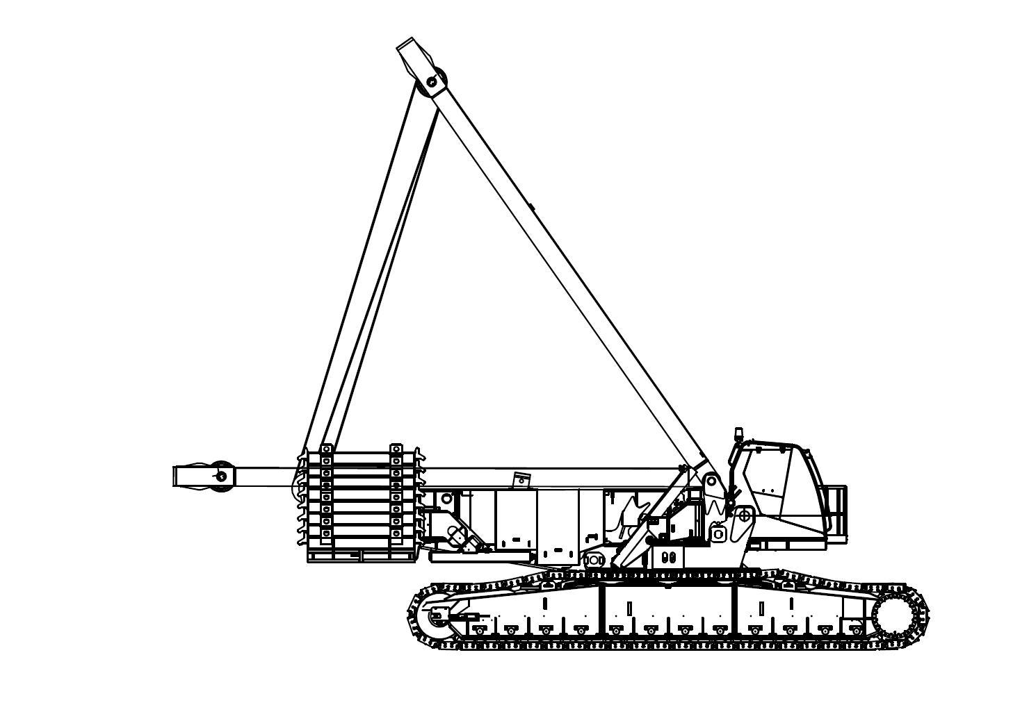 Mobile Crane Cad Block : Tower crane autocad block free download programs