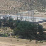Talinay  substation from above
