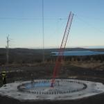 Wind farm met mast 2