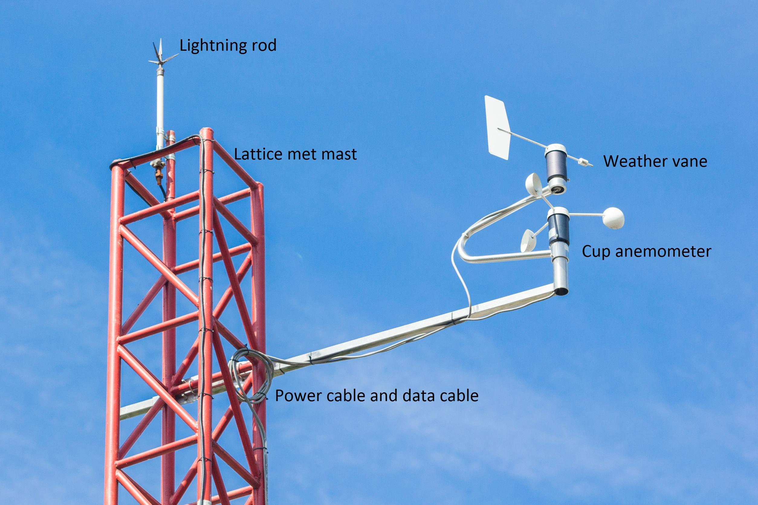 wind & met mast | wind farms construction