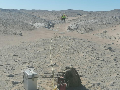 Geophysical works for a Wind Farm in Egypt, 2021