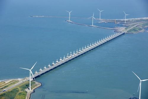 Near shore wind turbine foundations